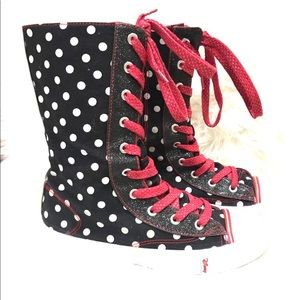Disney Minnie Mouse High Top Sneakers
